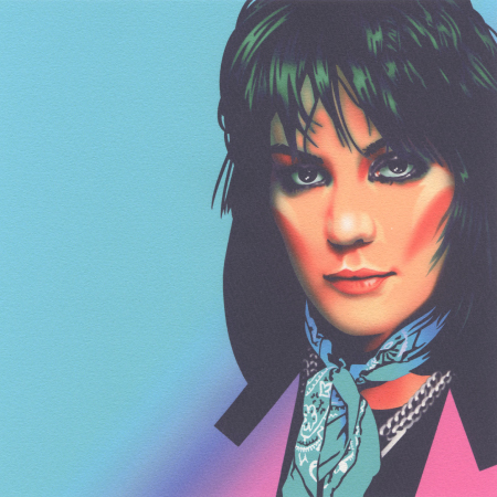 joan jett illustration